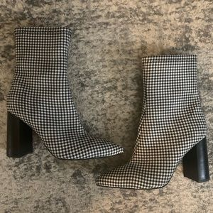 Jeffrey Campbell Gingham Coma Boots